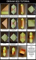 Origami Box Tutorial by Athalour