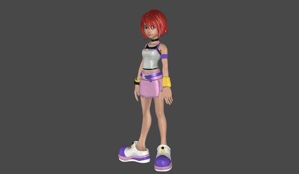 Kairi high poly mesh mod by Lopieloo
