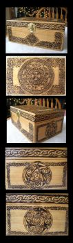 Celtic Jewelry Box by Theophilia