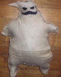 Oogie Boogie plush by Lily-pily