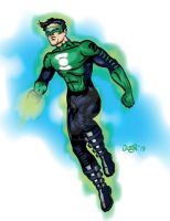 Green Lantern by hintofsilence