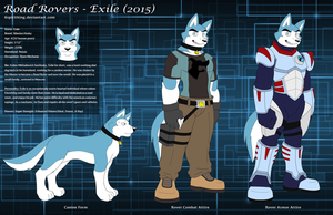 Road Rovers - Exile (2015) Character Sheet by 6SpiritKings