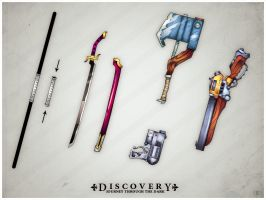 Discovery Weapons by LaNiMaL