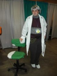 Dr. Stein cosplay by KaibaKitty