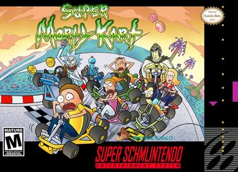 Super Morty Kart by TheSteveYurko