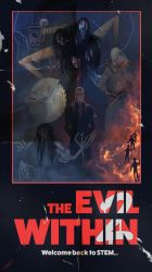 The Evil Within 2 - Vintage Poster by CODE-umb87