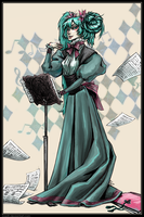 vocaloid - one very old Miku. by MadH