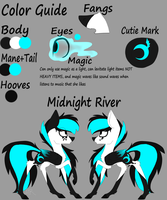 MLP River Reference Sheet (NEW) by 1MidnightRiver1