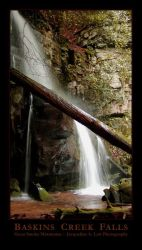 Baskins Creek Falls by Isquiesque