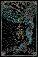 The Hanged Man - The Sacrifice for Enlightenment by Lakandiwa