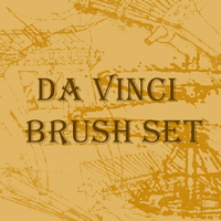 Incomplete DaVinci Brush set by TwIzTeR91