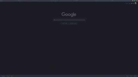Google Dark - Remix - Stylish theme by wiiija