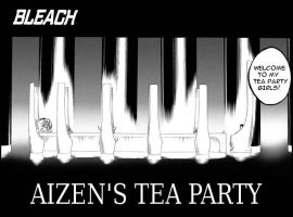 Aizen's Tea Party by frontsideair