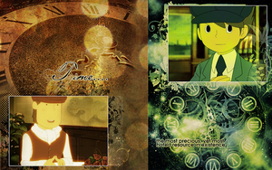 Professor Layton Wallpaper by vickinator