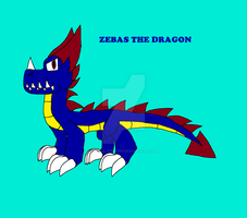 Zebas the dragon by fossil-fighter