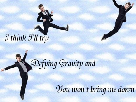 Defying Gravity- Chris Colfer by fuzzypurplequill