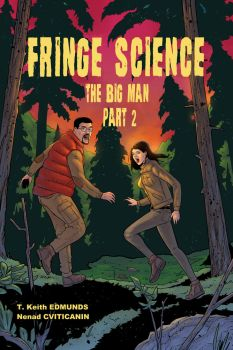 Fringe Science: The Big Man #2 Cover - colors by ZethKeeper