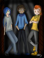#FNAFHS Nightmares by JustALittleZombie