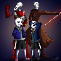 The Brothers Duo by lady-freya