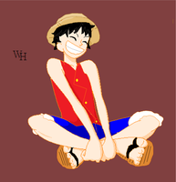 Monkey D. Luffy by manicgirl155