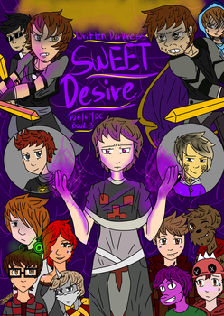 Sweet Desire Book 3 Cover by LiLDipArtsy