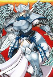 Commission: The Warrior Queen- Gertrude Snowheart by N8Dogg5k