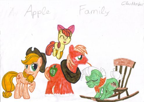 Apple family by clouddasher
