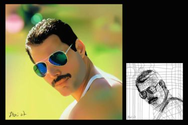 Freddie Mercury - mr bad guy by itailu