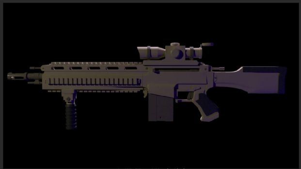 3D Rifle (PMCA1 Project) by Reapr38