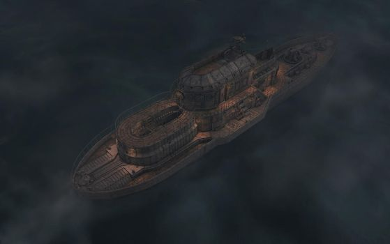 Grunge Steam Cruiser V1 Night by eRe4s3r