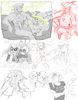 sketchdump0005 by guild-snail