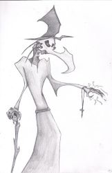 Plague doctor by BoneHeart