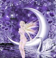 The Fairy Moon by pixievamp