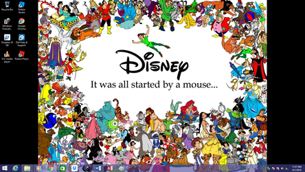 Classic Disney on SPED's Win8.1 by jcpag2010