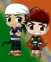 Muarim And Tormod by ObsidianPearl