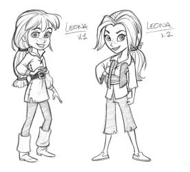 Pirate Girl concepts by tombancroft