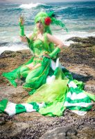 Rydia of the Mist Cosplay FFIV by SusanEscalante