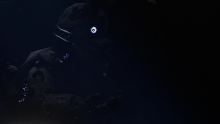 Fear of darkness |Stylised Springtrap| by Artes-13