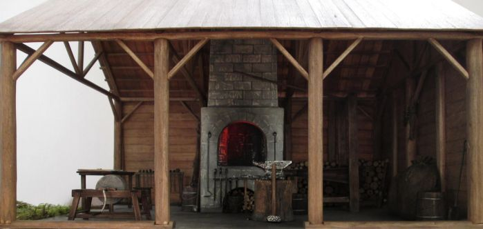 Medieval Blacksmith Shop (Finished Project) by AtriellMe
