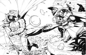 moon knight vs dr doom comish by CRISTIAN-SANTOS