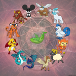 Ultra Dioses Zodiacales Oriental by Urbinator17