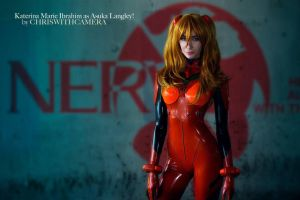 Asuka Langley - Neon Genesis Evangelion by Katerina-Doll