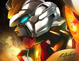 Build Burning Gundam by aerlixir