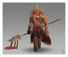 Ganondorf redesigned by Furin94