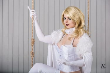 Emma Frost from X-men (Marvel universe) by Atai