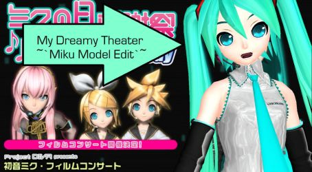 MMD Dreamy Theater Miku download by Sucaloid321