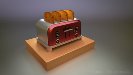 Beard Toaster by vasanthbfa