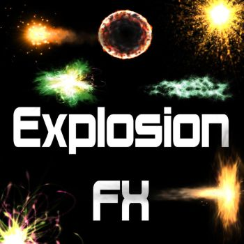 -PACK 40- Explotion FX (All PNG) by DarkOozz