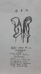 We Are All Human by lifewatery