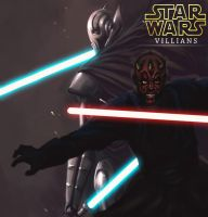 General Grievous  Darth Maul by 2oneart